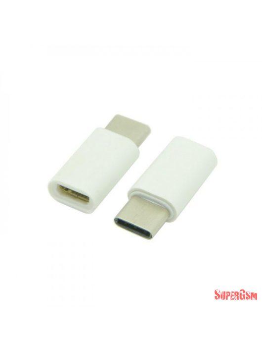 5. Átalakító adapter MICRO USB-ről USB C-re