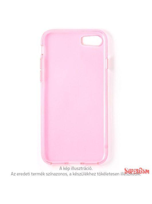 iPhone 8 Plus vékony TPU szilikon hátlap, Pink